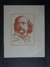 VIBERT P-EUGENE(1875-1937)-PORTRAIT DE B. D'AUREVILLY- XXEME-EPREUVE SUR JAPON