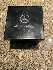 Authentic Mercedes-Benz Black Leather Band Watch