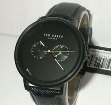 Ted Baker TE50657002 Men's Multi-Function Black Dial Watch / SubDial Hand off