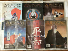 Aikido Today Magazine 6 Issue Bundle Vol. 9-10 1996 Excellent Condition
