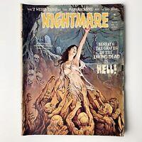 NIGHTMARE MAGAZINE No. 18 - April 1974 SKYWALD Horror Mood Man Mcabre