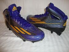 Men's Adidas 5-Star 4.0 Adizero B54263 TD Mid Football Cleats Size 12.5 - Black