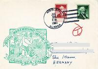 7 x Polarpost USA 1961
