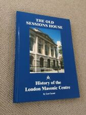 Len Cacutt THE OLD SESSIONS HOUSE hardback Signed, Its Setting & History   The O