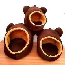 3 Pcs/Set Family Hanging Cute Bear Hanging Bed Sugar Glider Cage . Size S, M, L.
