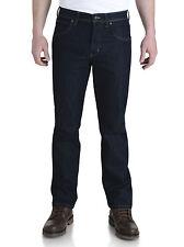 Wrangler Men's Durable Stretch Jeans Rinsewash W34/l30