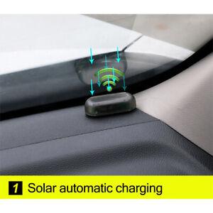 new Car Alarm LED Light Solar Security Warning Dummy System Flashing Light
