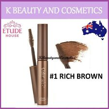 [Etude House] Color My Brows (#01 RICH BROWN) Eye Brow Eyebrow Gel Mascara
