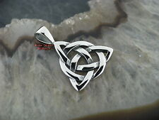 Keltischer Knoten Celtic Pendant Anhänger mit Band Bone Knochen PB016