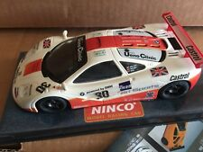 Ninco McLaren F1 GTR #30 ART SPORT MB 50153 unused however sun damage to sleeve