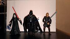 "STAR WARS Action Figure LOT: ""Lot of 3 SW Figures"" - LOOSE - The Dark Side Lot"