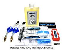 * TBS Hydraulic Brake Bleed Kit for AVID + DOT 5.1 Fluid * Juicy Elixir Code #2