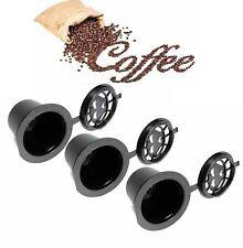 CAPSULAS CAFE NESPRESSO RECARGABLES REUTILIZABLES RELLENABLES PARA CAFETERA
