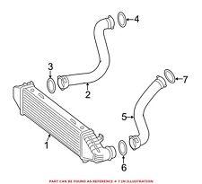 For Mercedes Genuine Turbocharger Intercooler Tube Seal 0219976545
