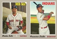 2019 Topps Heritage Baseball Cards Base Team Set Pick From List