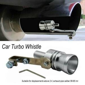 XL Exhaust Muffler Pipe Whistle Turbo Sound Simulator Sounder Tone Universal