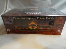 MIDDLE EARTH CCG, FRENCH DRAGONS SEALED BOOSTER BOX OF 36 PACKS