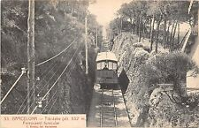 B93076 barcelona tibidabo ferrocarril funicular spain train railway