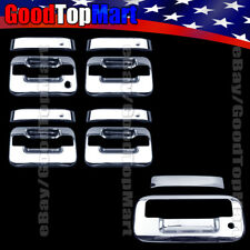 For Ford F150 F-150 2004-2011 2012 2013 2014 Chrome Covers Set 4 Doors+Tailgate
