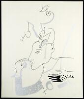 """DDR-Kunst """"Wieder Diana"""" 1989 Serigraphie Karla WOISNITZA (*1952 D) handsigniert"""