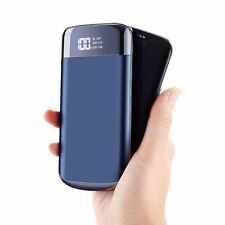 Neu Extern Akku 50000mah LCD Power Bank 2USB LED Zusatzakku Batterie Ladegerät