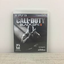 Call of Duty: Black Ops II 2 PS3 (Sony PlayStation 3) Complete Clean Tested
