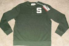 Michigan State Spartans University Crewneck Sweatshirt (SEWN ON S LOGO) Sz Large