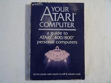 ATARI BOOK  Your Atari Computer - A guide to Atari 400 & 800 personal computers