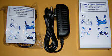 AC Adapter For Gold's Gym CycleTrainer 390R Version II  Power Supply Ver 2.0