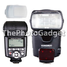 Yongnuo YN-500EX Wireless HSS TTL Flash for Canon with Diffuer Cap