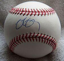 Baltimore Orioles Delmon Young Signed Rawlings Major League Baseball Auto