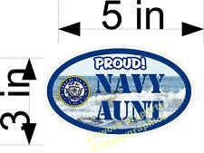 NAVY AUNT VINYL DECAL PROUD