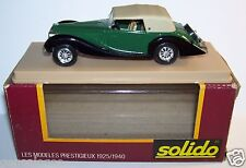 AGE D'OR SOLIDO OLD DELAHAYE 135M 1939 FIGONI FALASCHI VERTE 1/43 IN BOX