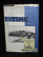 Catherine Bush MINUS TIME Signed 1st Edition 1993 HC/DJ