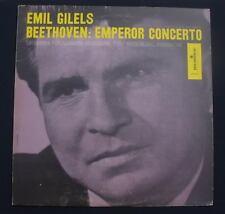 EMIL GILELS Beethoven: Emperor Concerto Lp NM