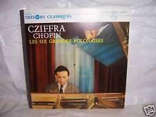 "VERY RARE LP / 33T CZIFFRA  CHOPIN  ""LES SIX GRANDES POLONAISES"" 200Gr. PHILIPS"