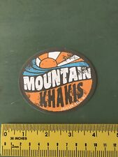 mountain khakis Decal/sticker Skiing
