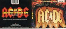 "AC/DC MAXI CD DIGIPACK 2T "" HARD AS A ROCK "" 1995 NUMEROTE + 4 CARTES (16 MINI )"