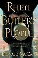 Rhett Butler's People by Donald Mccaig- 2007 Hardcover 500 Pages- retail $27.95