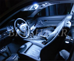 For BMW 3 Series E93 Convertible LED Light ERROR FREE COOL WHITE Interior SET