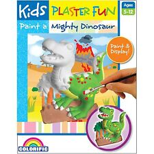 Kids Projects Plaster Fun PAINT A MIGHTY DINOSAUR KIT Age Appropriate Craft