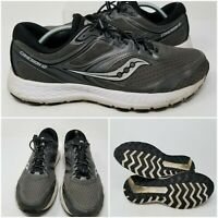 Saucony Cohesion 12 Black Athletic Running Tennis Shoes Sneaker Men's Size 12