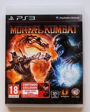 MORTAL KOMBAT - PLAYSTATION 3 PS3 PLAY STATION 3 - PAL ESPAÑA - 2011