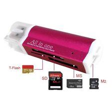Rot Kartenlesegerät Kartenleser Card Reader Micro SD MMC M2 USB Rn%g eNwrg JwTPi