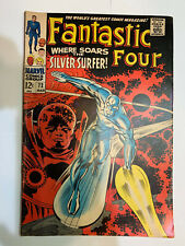 Fantastic Four #72 Jack Kirby Silver Surfer Low Grade - Frank Zappa Mothers Ad!