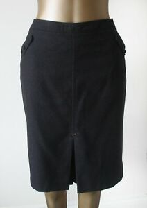 Skirt Ted Baker 3 UK 12 Tweed Wool Samia Box Pleat Fully Lined Flawless