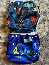 New listing Alvababy Swim Diapers 2 pcs One Size Reusable Adjustable 0-24 mo