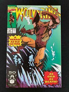 WOLVERINE #44  MARVEL COMICS 1991 VF+