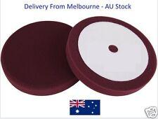 "8"" Red Cutting Buff Pad For Car Detailing Polish"