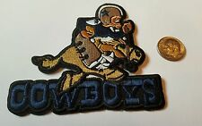 "Dallas Cowboys vintage embroidered iron on Patch   3""x 3"" Vintage 🤠 Cowboy Joe"